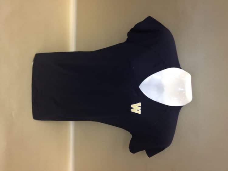 WMU Embroidery Women's Vneck