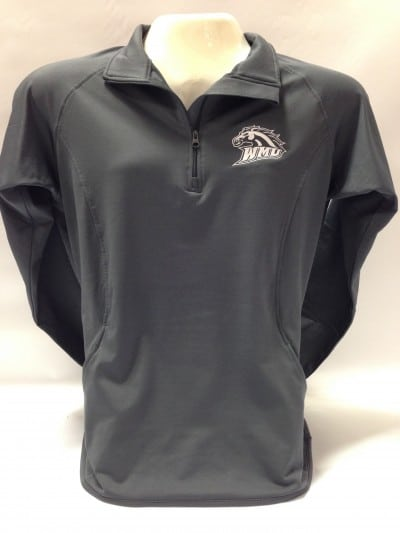 wmu quarter zip