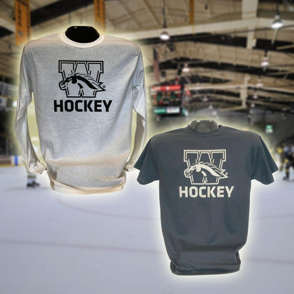 The first designs for WMU Hockey are on the shelves and waiting for you.  They are priced to move at  10.99 for the short sleeve and  16.99 ... 8aaa6ac4afc