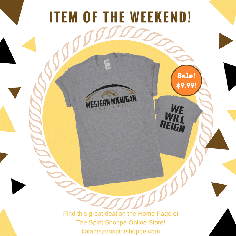 Western Michigan Football T Shirt
